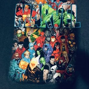 Marvel Hero Squad Graphic T Shirt Men's 2XL